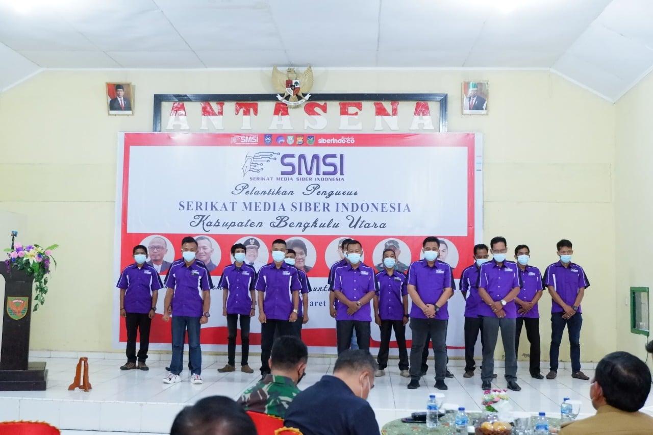 Pelantikan SMSI Bengkulu Utara, Forkopimda Lengkap Hadir ...